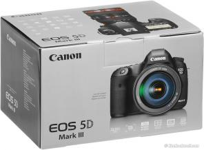 Canon EOS 5D Mark III SLR 22.3MP W / объектива EF24-105mm U